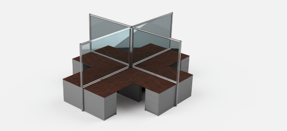 Robotunits_Office_Area_distancing_barriers